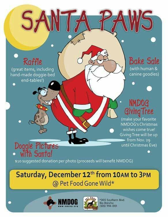Santa Will Be At Pet Food Gone Wild Pet Food Gone Wild Pinterest