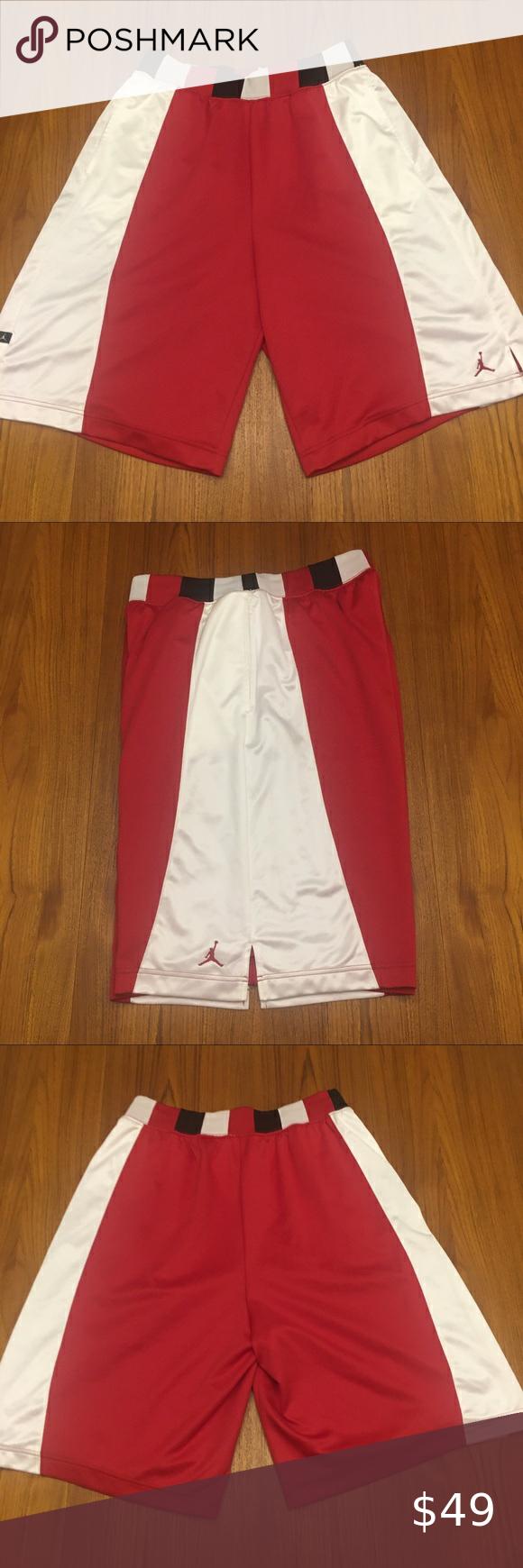 Sold Vintage Nike Air Jordan Shorts Xl 2005 In 2020 Vintage Nike Clothes Design Jordan Shorts