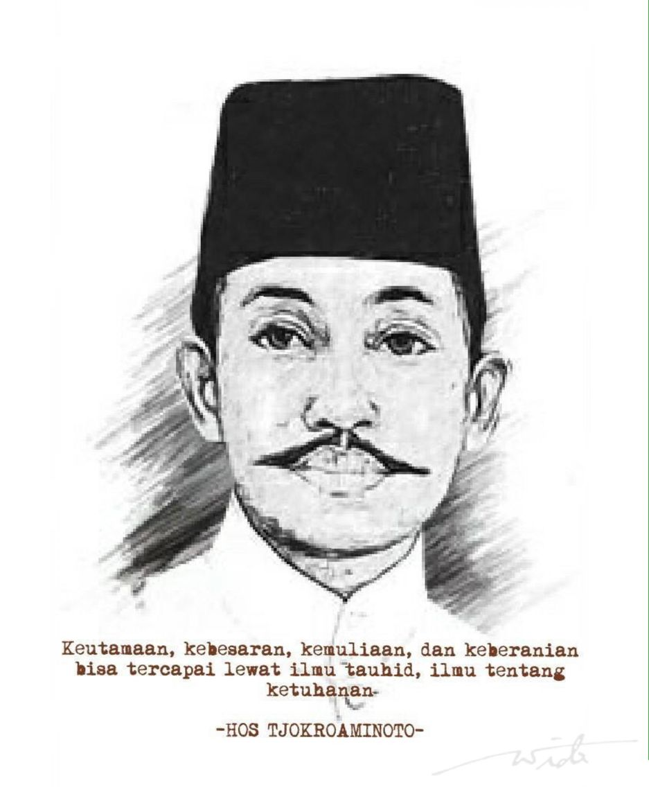 Gambar Pahlawan Muslim Indonesia