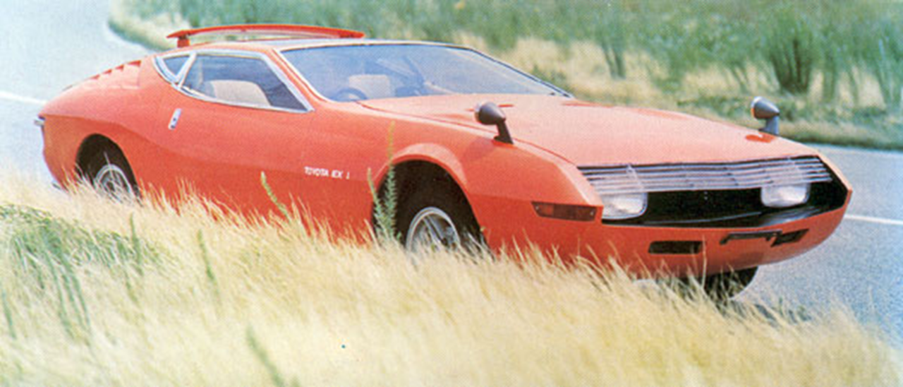 The Celica's mother. Toyota EX1 Concept. ヴィンテージカー, トヨタ