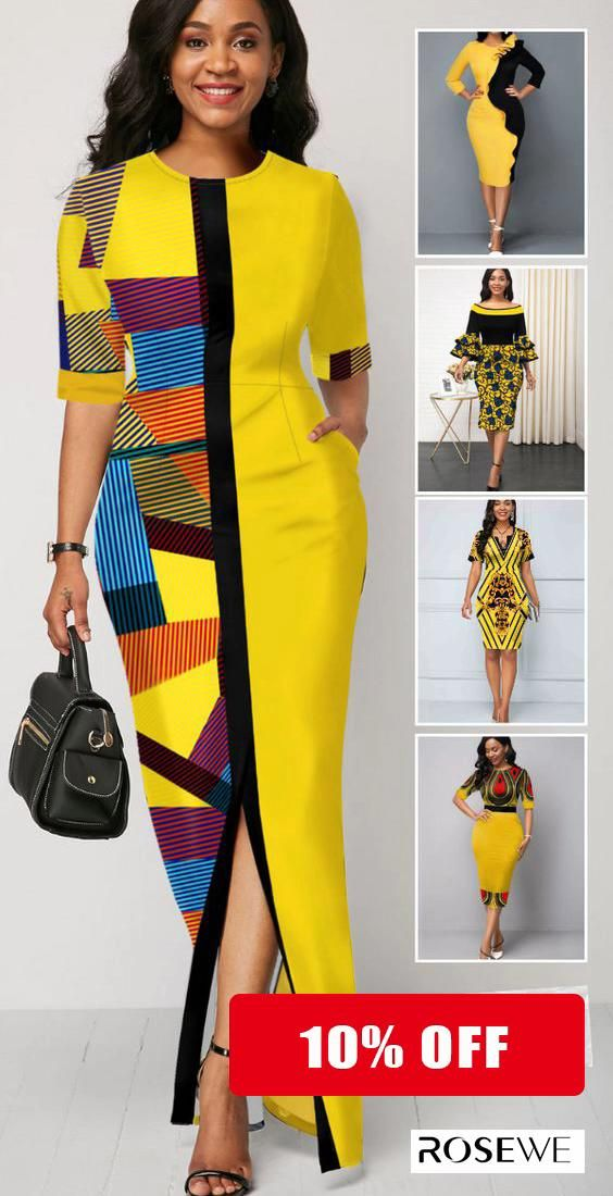 10% OFF for first order ** free return yellow maxi summer dress for women