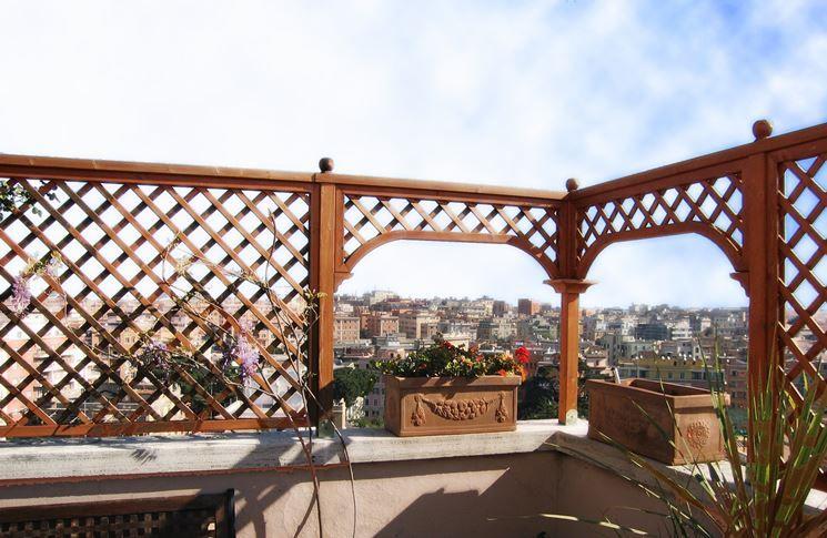 Risultati immagini per recinzioni grate per terrazzi   Idee per il ...