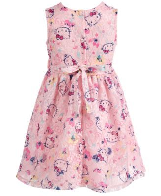 a2982511a Hello Kitty Toddler Girls Printed Lace Dress in 2019 | Products ...