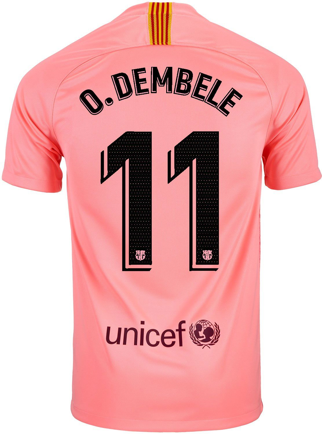 98ee50eb774 Shop for this 2018/19 Nike FC Barcelona Dembele 3rd Jersey today from  SoccerPro