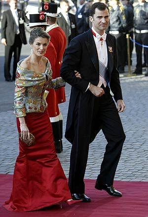 El Príncipe y Letizia