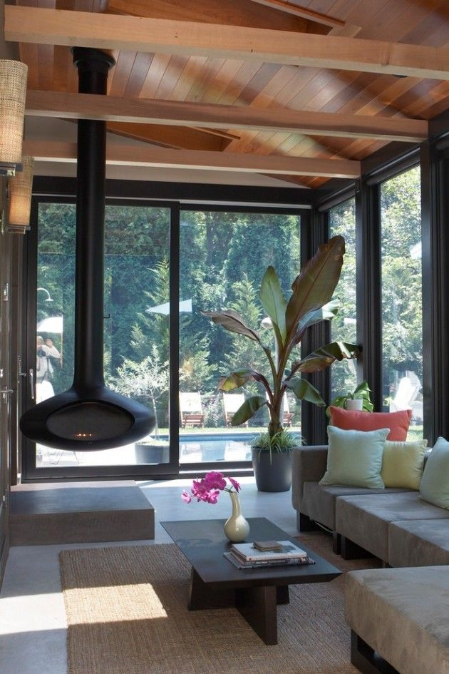 Pinterest & 15 Magnificent Modern Sunroom Designs For Your Garden | Residential ...