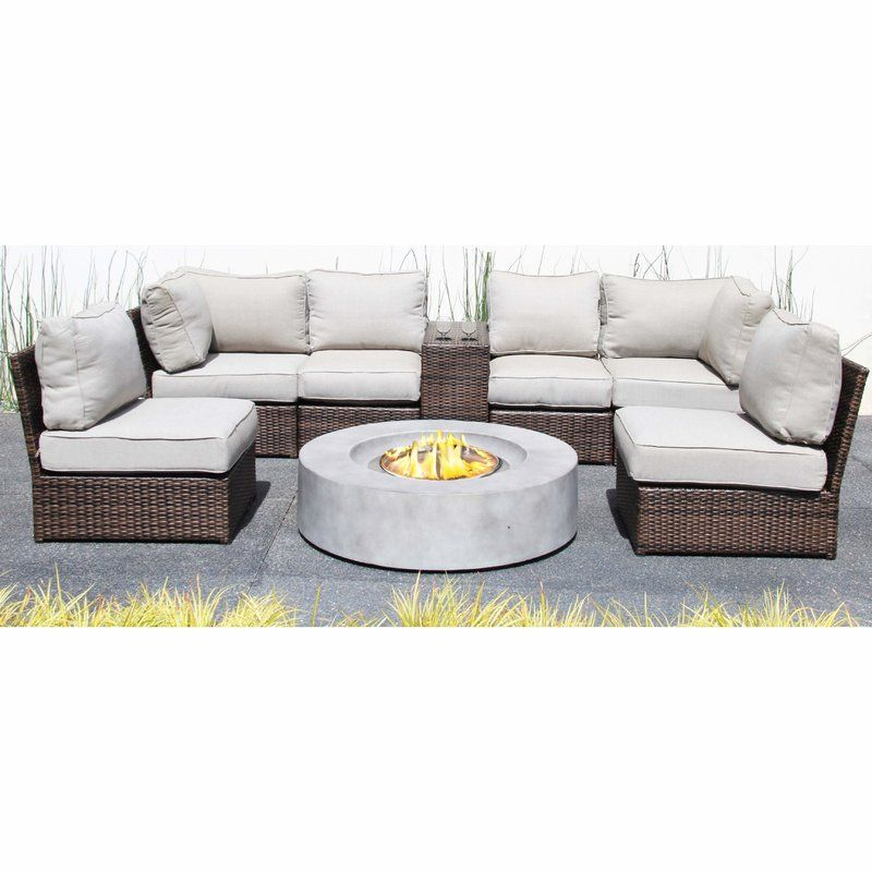 Fantastic Vasil 8 Piece Sectional Set With Cushions In 2019 Decor Bralicious Painted Fabric Chair Ideas Braliciousco
