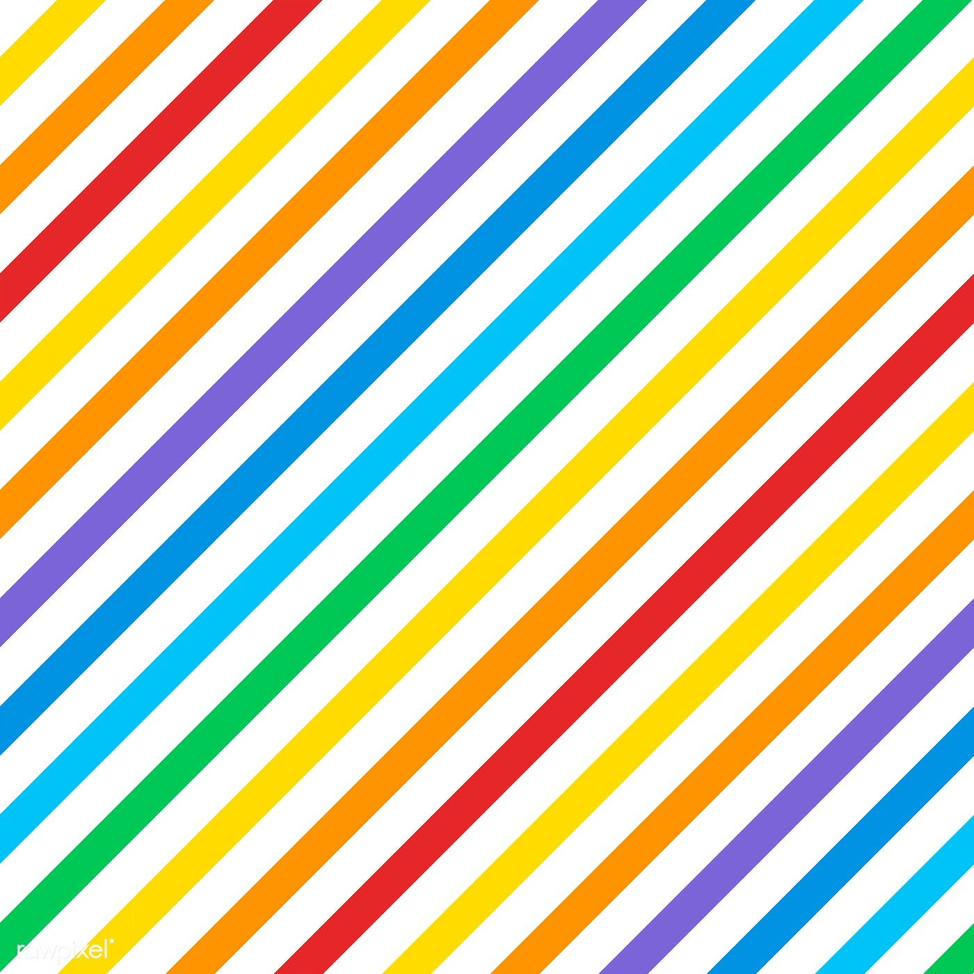 Seamless Colorful Diagonal Stripes Pattern Vector Free Image By Rawpixel Com Manotang In 2020 Diagonal Stripes Pattern Stripes Pattern Vector Free