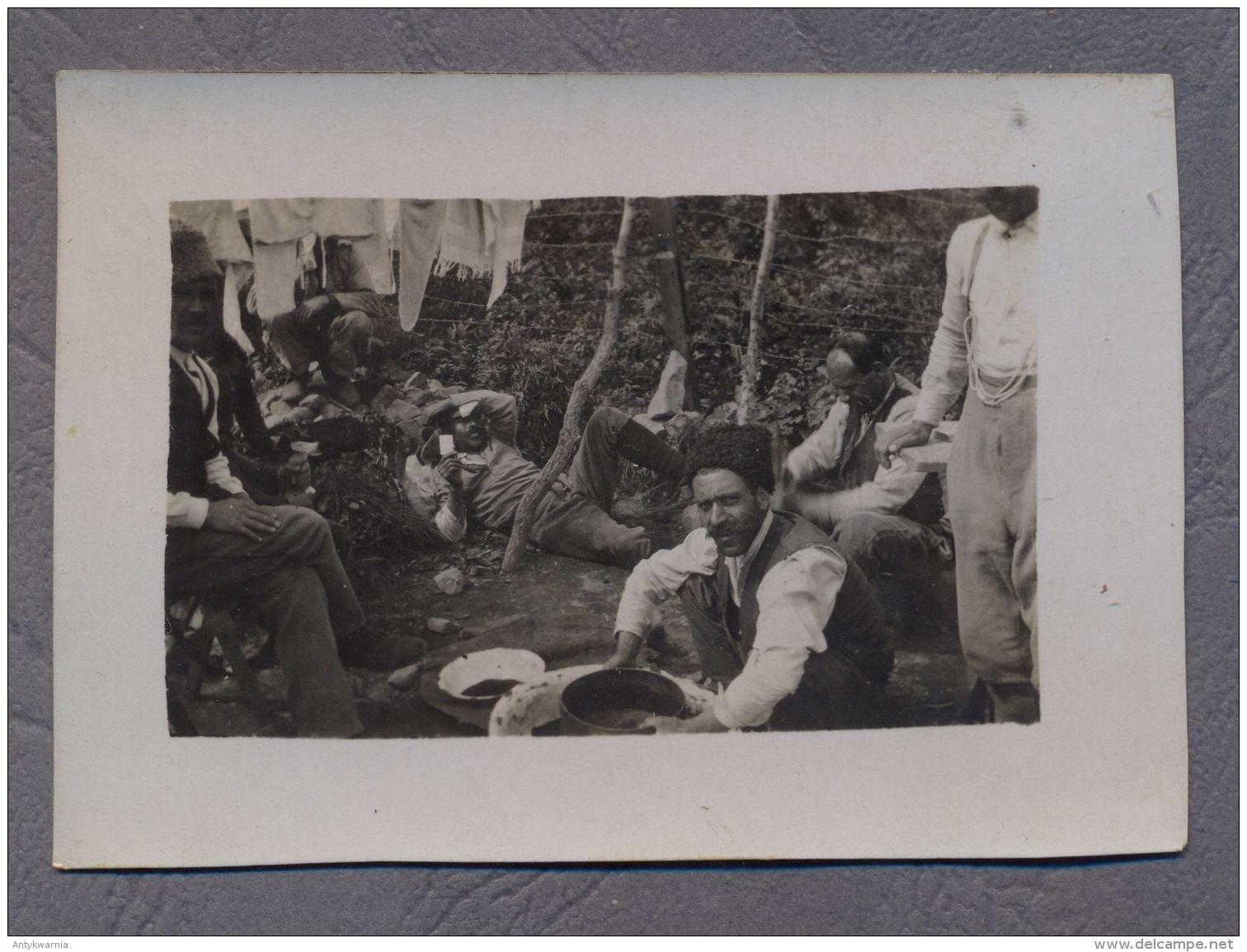 Pervaja Rjecska Pervaya Rietschka VLADIVOSTOK  Turkish ? prisoners   Captive camp   1920y.  Photo      C530