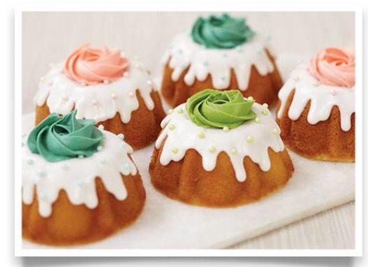 Mini Bundt Cakes Mini Bundt Cakes Bundt Cake Decorations