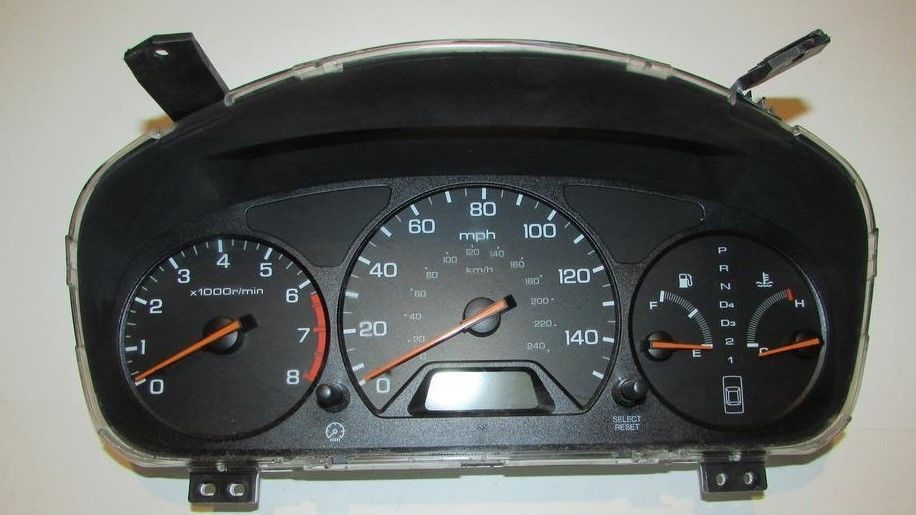 98 99 00 01 02 Honda Accord Instrument Cluster Speedometer At