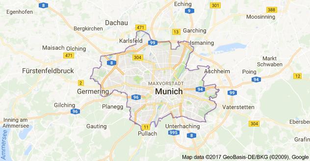 Map of munich germany paris pinterest munich map of munich germany gumiabroncs Choice Image