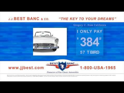 JJ Best Banc Co TV Advertisement Classic Car Financing - Classic car financing