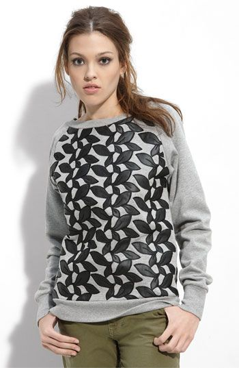 neat idea, but I'd want it to look way different. It's just applique on a sweatshirt