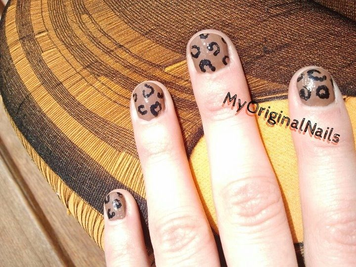 Raw like a Leopard -MyOriginalnails