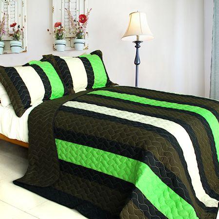Minecraft Colors Teen Boy Bedding Full Queen Quilt Set