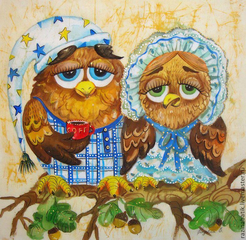 две совы картинка рисунок тайсон признался