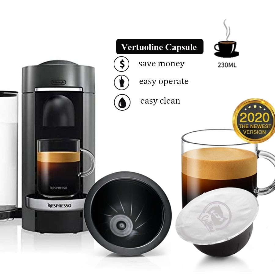 Reusable Coffee Capsules Stainless Steel Refillable