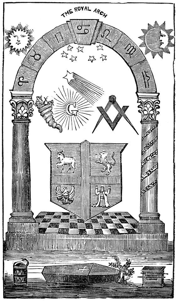New The royal arch mason - New Masonic Signs