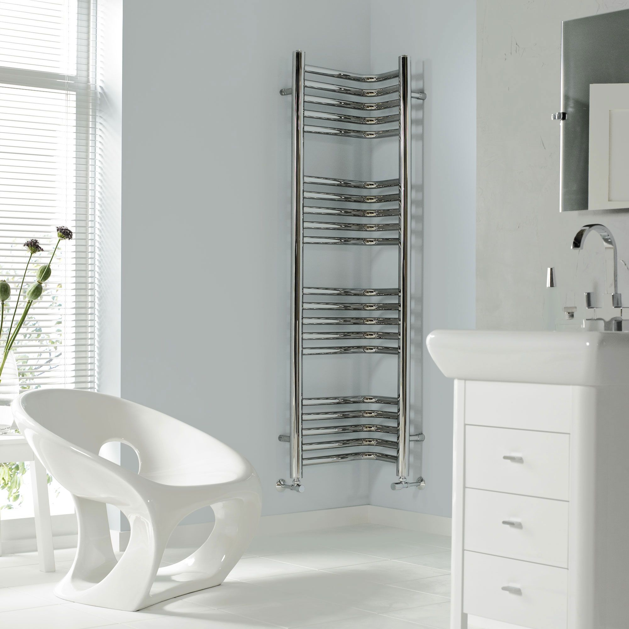 Introducing the Vogue Inttra Heated Towel Rail