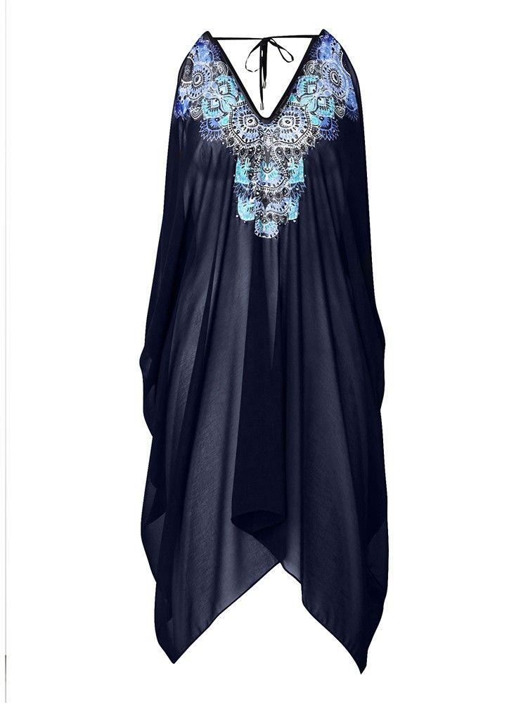 'Nero' Embellished Kaftan -