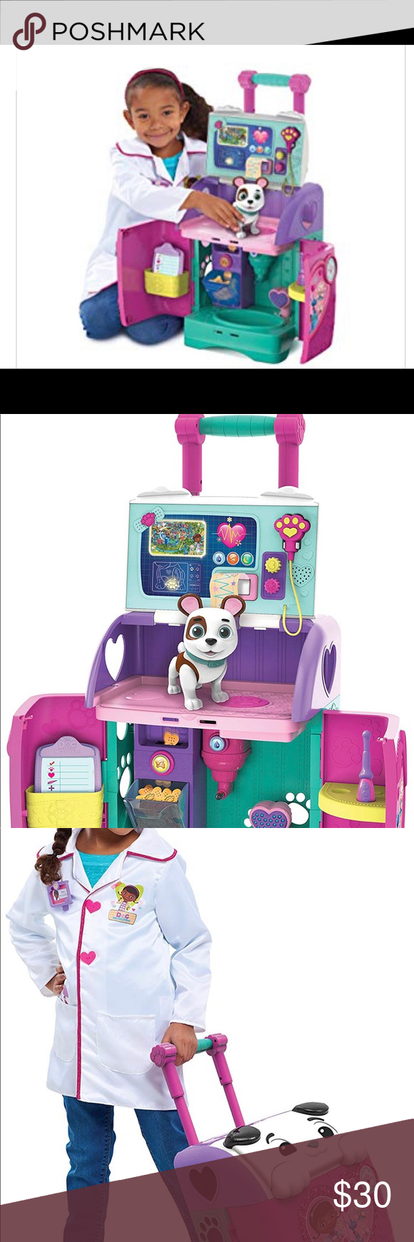 Doc Mcstuffins Pet Rescue Mobile Brand New Doc Mcstuffins Pet Mobile Pet Rescue Mobile Is Equipped With Lights Music Phrases And Play Medical T Animal Rescue