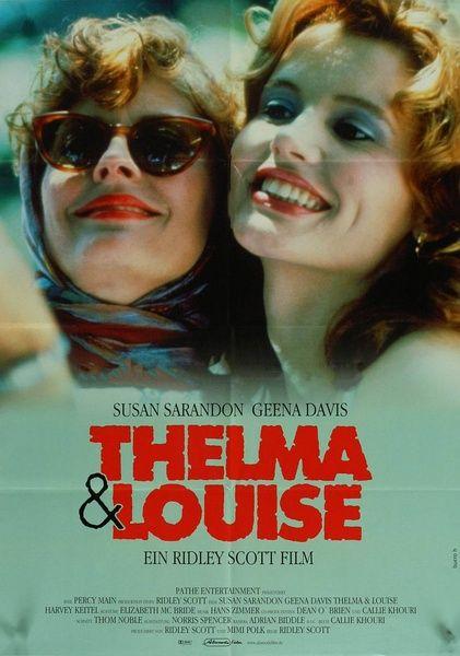 Thelma & Louise:当生活把人逼得一无所有的时候,人连死也不怕了。真不明白她们为何不接受警察的帮助?