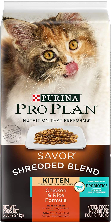 Purina Pro Plan Probiotics Dry Kitten Foodsavor Shredded Blend Kitten Chicken Amprice Formulalbbagpe Amazon Affiliate Link In 2020 Purina Pro Plan Purina Kitten Food