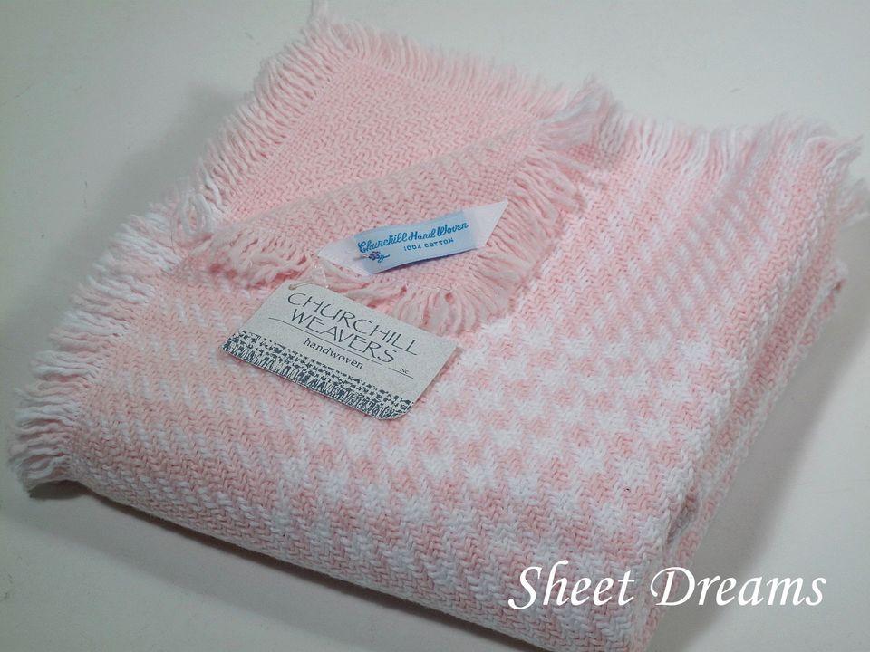 Churchill Weavers Handwoven Baby Blankets Hand Weaving Hand Woven Blanket Baby Blanket