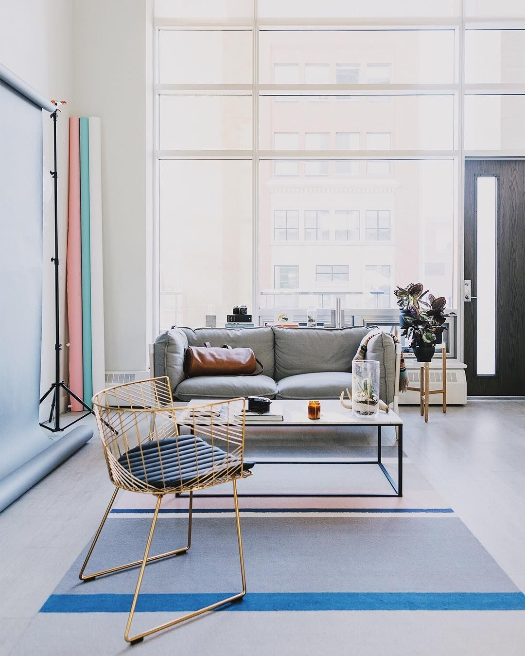 Grotto Sofa And Minimalista Coffee Table By Blu Dot Photo By - Blu dot minimalista coffee table