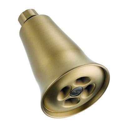 Delta Universal Showering Components 1.5 GPM Shower Head Finish: Brilliance Champagne Bronze
