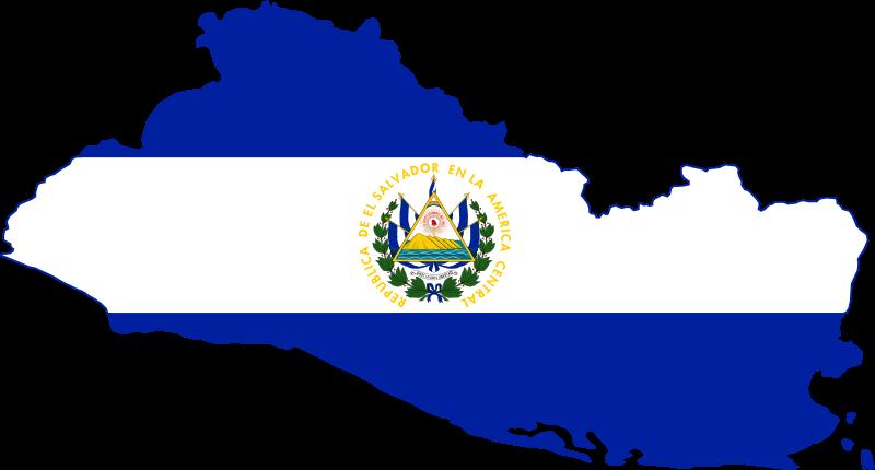 File El Salvador Stub Svg El Salvador Flag El Salvador San Salvador