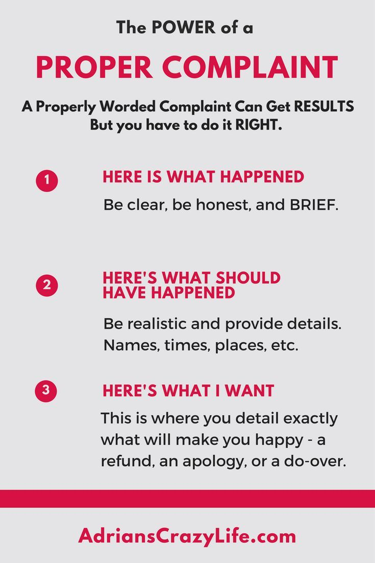 The Power Of A Properly Worded Complaint  Blogging Saving Money