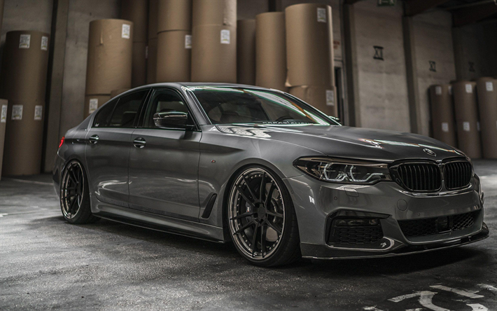 Download wallpapers Z-Performance, tuning, G30, BMW M5, 2018