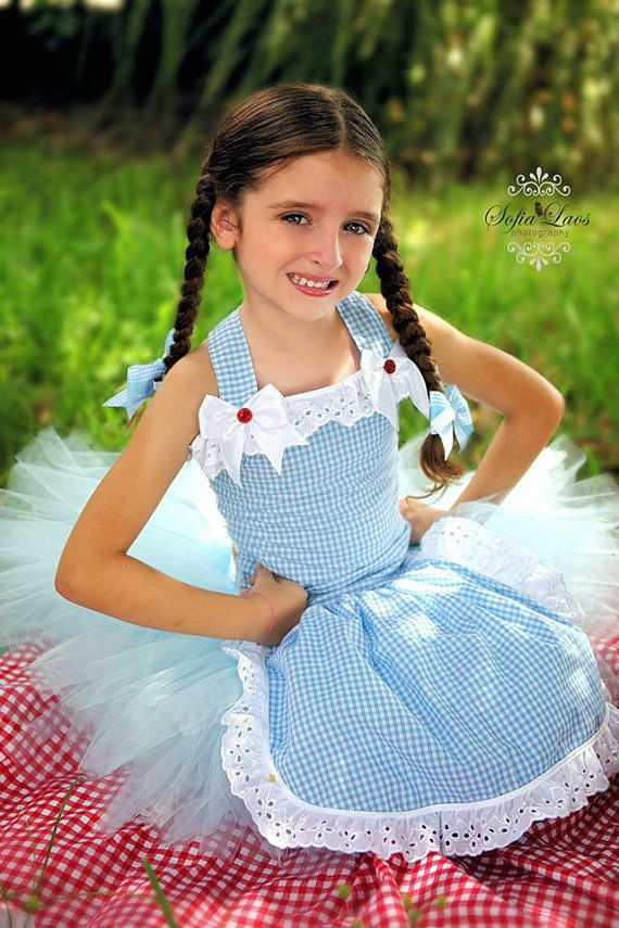 3d7f8307dee0d Dorothy from the Wizard of Oz Halter and Tutu- | Dance Costumes ...