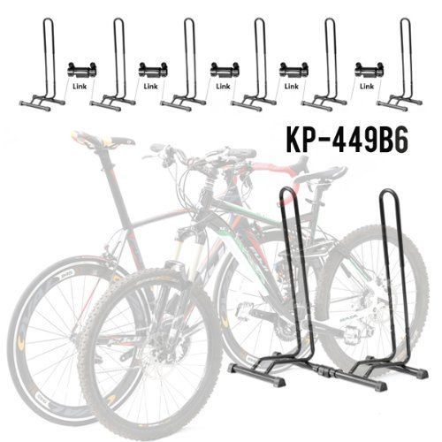 Cyclingdeal Adjustable 1 6 Bike Floor Parking Rack Storage Stands Bicycle Review Bicycles For Sale Bicycle Bike