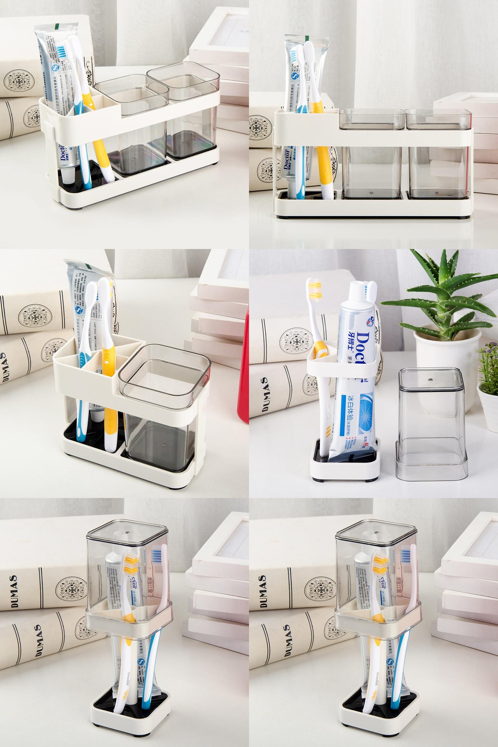 Visit to Buy] Creative Bathroom Supplies Wash Set Toothpaste Tumbler ...