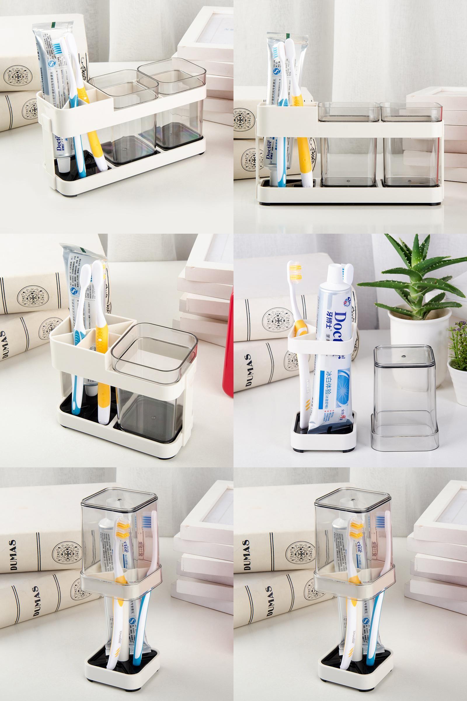 Visit To Buy Creative Bathroom Supplies Wash Set Toothpaste Tumbler Toothbrush Holder Plastic