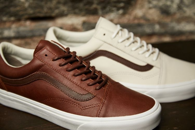 Vans Leather Pack Zima 2016 Leather Sneakers Outfit Sneakers Outfit Men Mens Sneakers Casual