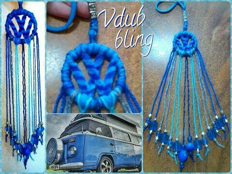 Dream Catcher Campers Minni Vdub Dream Catcher made to order for a customer's bright 39
