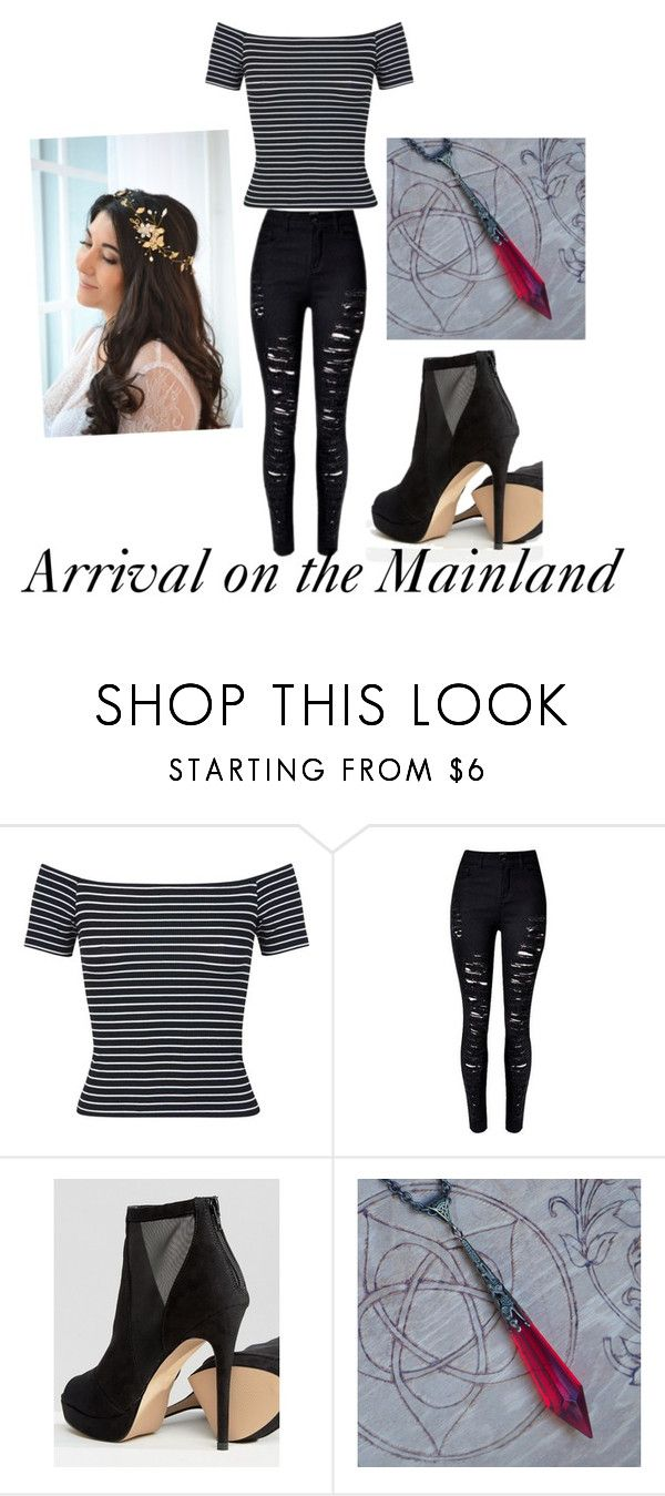 """Arrival on the MainLand"" by kayla-iz-here on Polyvore featuring Miss Selfridge and ALDO"