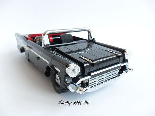Lego Chevy Bel Air With Images Lego Wheels Lego Cars