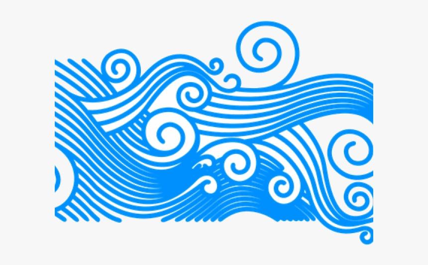 Wave Clip Art Clipart Curly Ocean Waves Transparent Transparent Background Wave Clipart Png Png Download Is Free Transpare Wave Clipart Art Clipart Clip Art