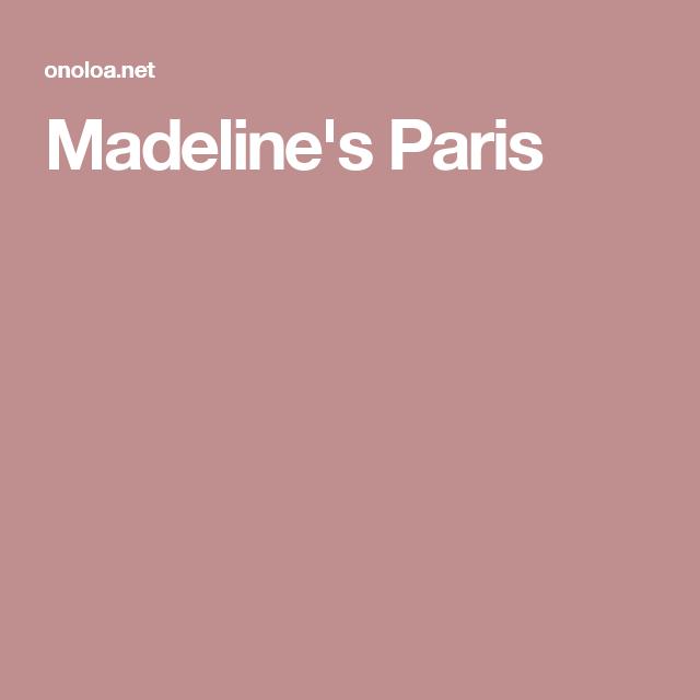 Madeline's Paris