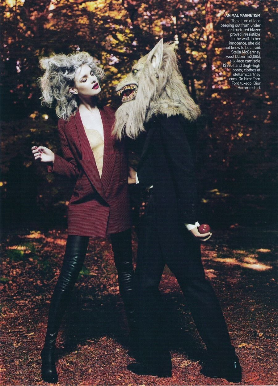 Wolf editorial 2  Vogue US September 2009