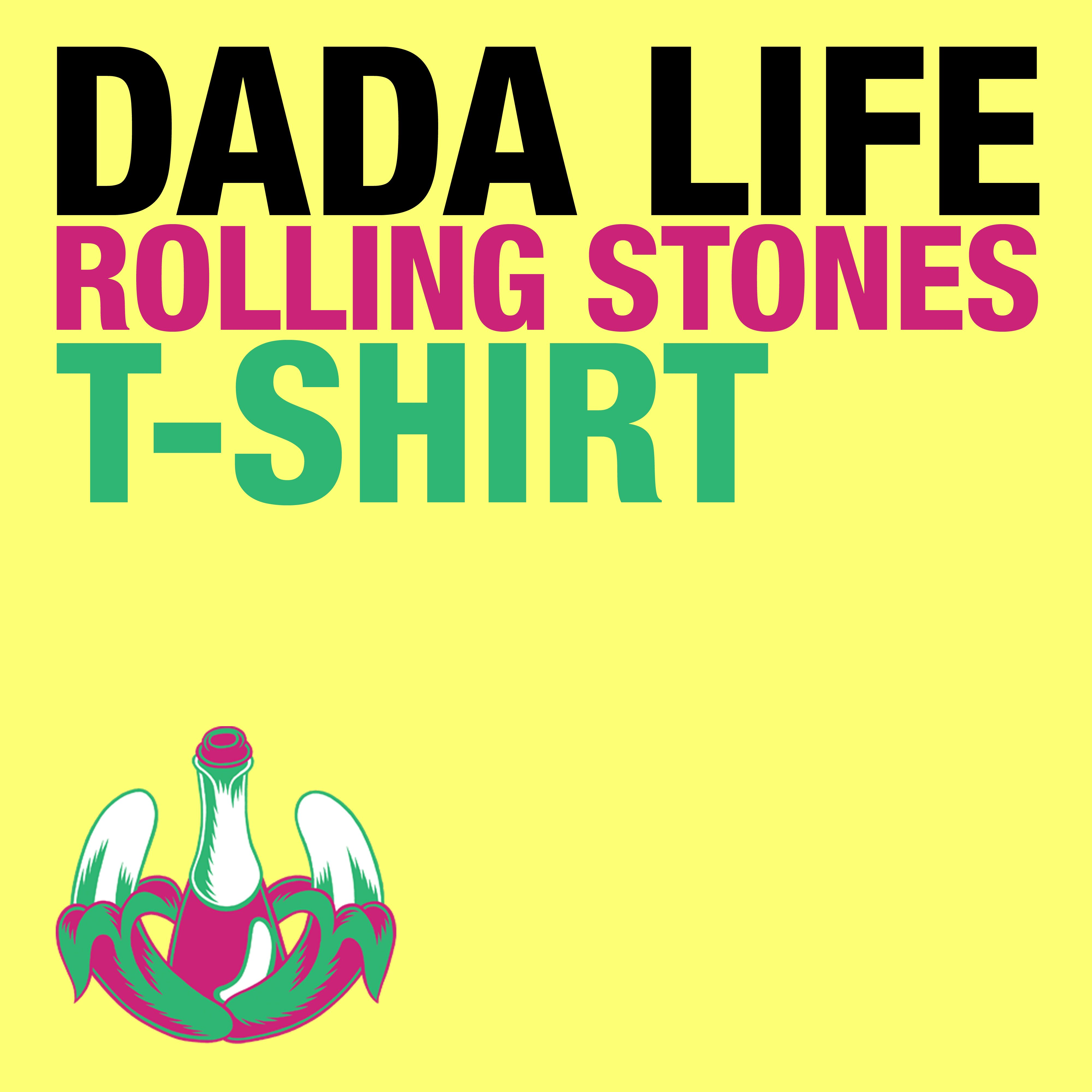 Dada Life – Rolling Stones T-Shirt (single cover art)