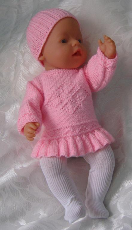Knitting Baby Doll : Knitting american girl inch doll baby born