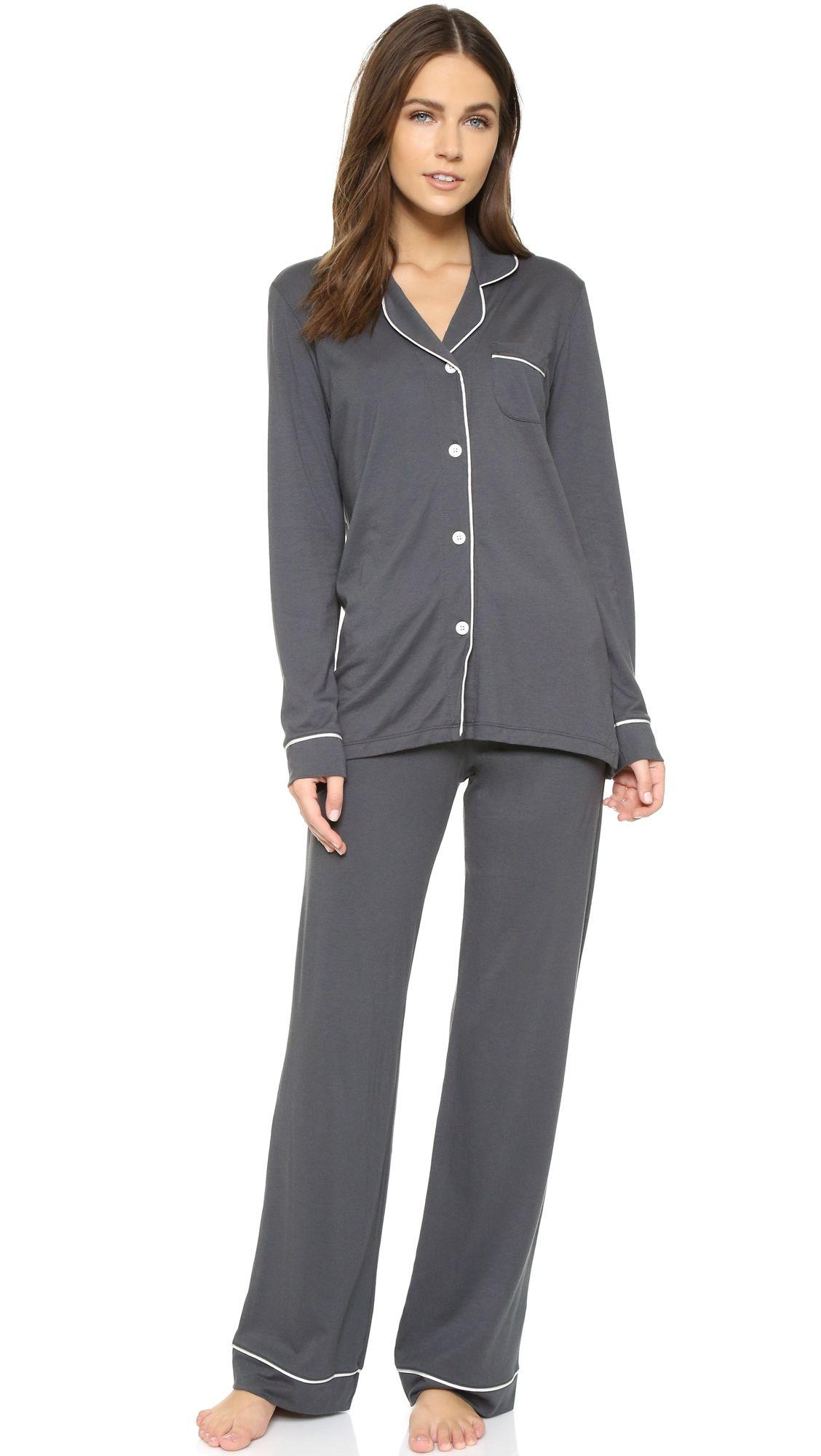 c230844f4a88 Cosabella Bella Long Sleeve Top   Pant PJ Set