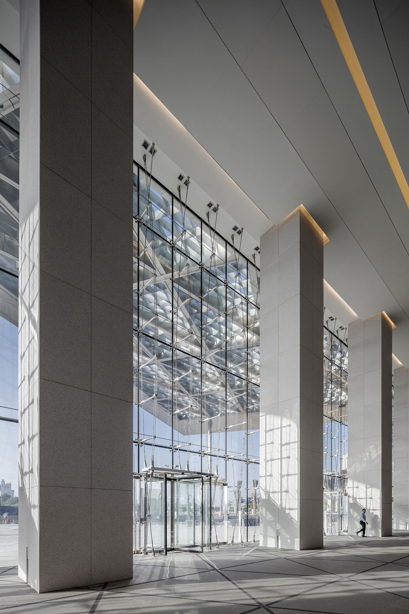 Adnoc Headquarters Hok Arch2o Com Commercial And Office Architecture Architecture Education Architecture