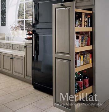 Tall Pantry Pull-out - Masterpiece Accessories - Merillat This website also has an online layout design tool